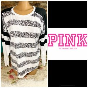 Victoria's Secret Leopard long sleeve tee